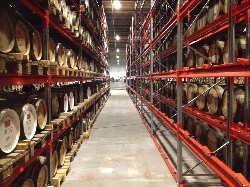 High Coast Distillery Warehouse
